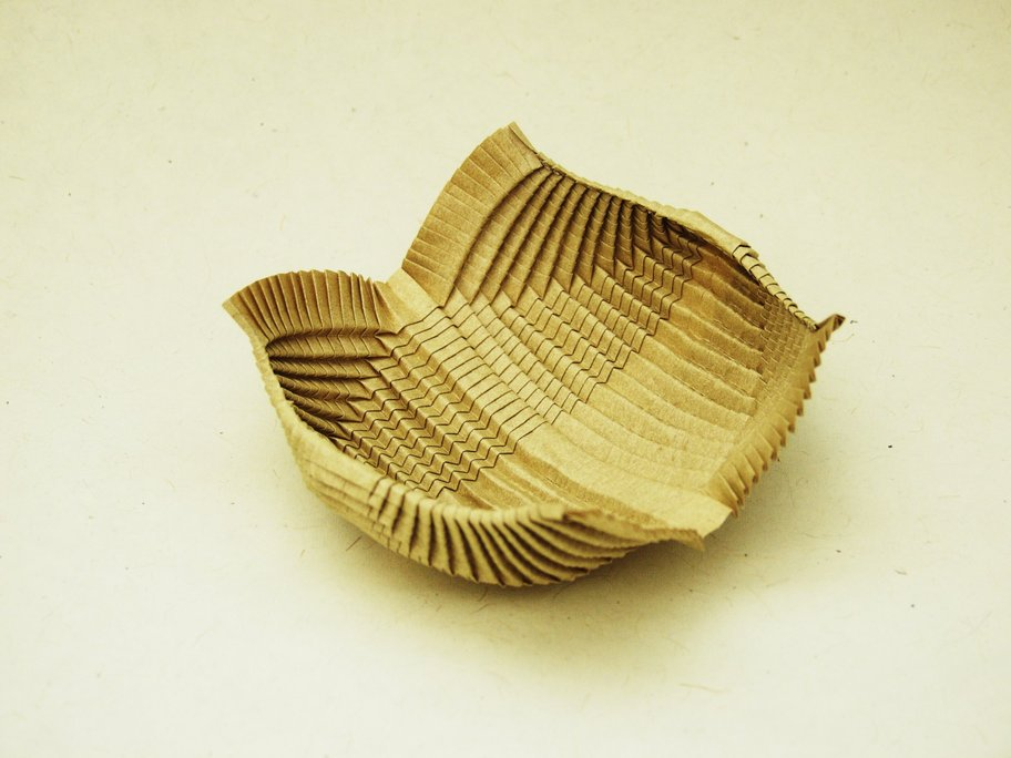 Organic Origami Gallery Pleat Tessellations Sequence Interaction